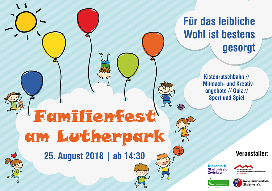 Familienfest am Lutherpark
